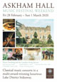 Askham Hall Music Festival Weekend Feb- March 2020