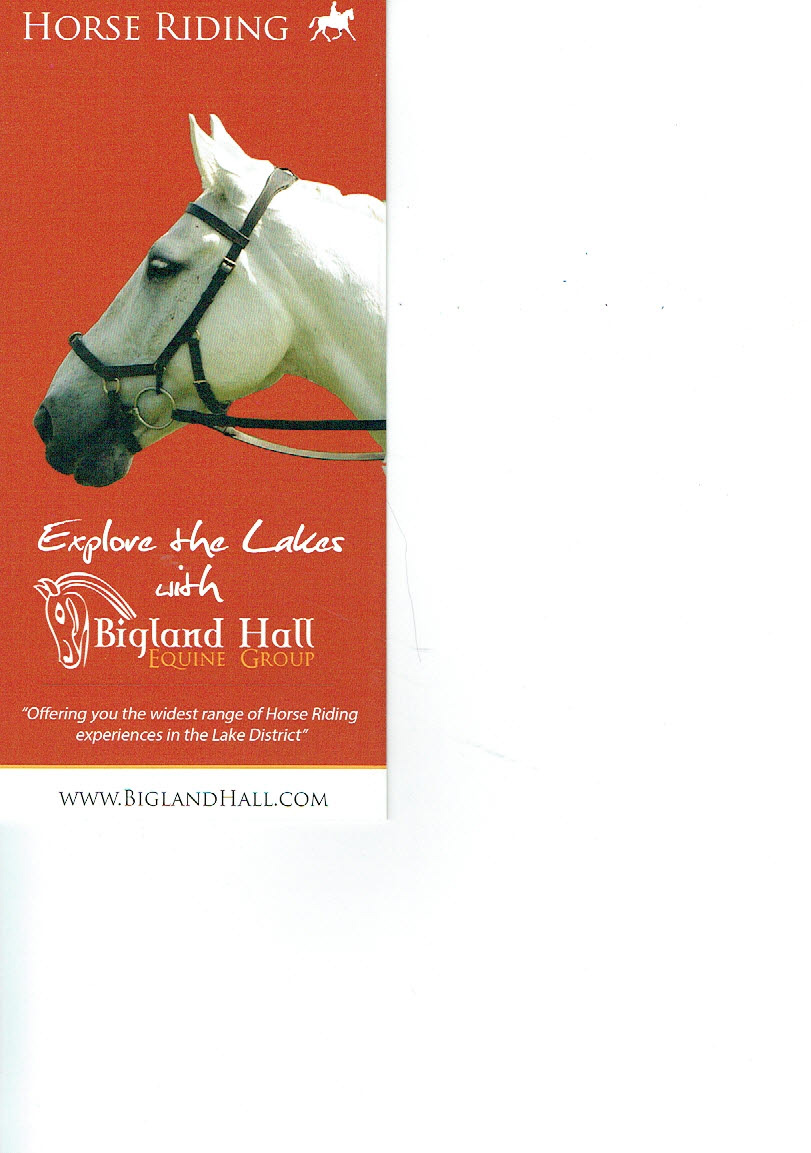 Horse Riding Bigland Hall